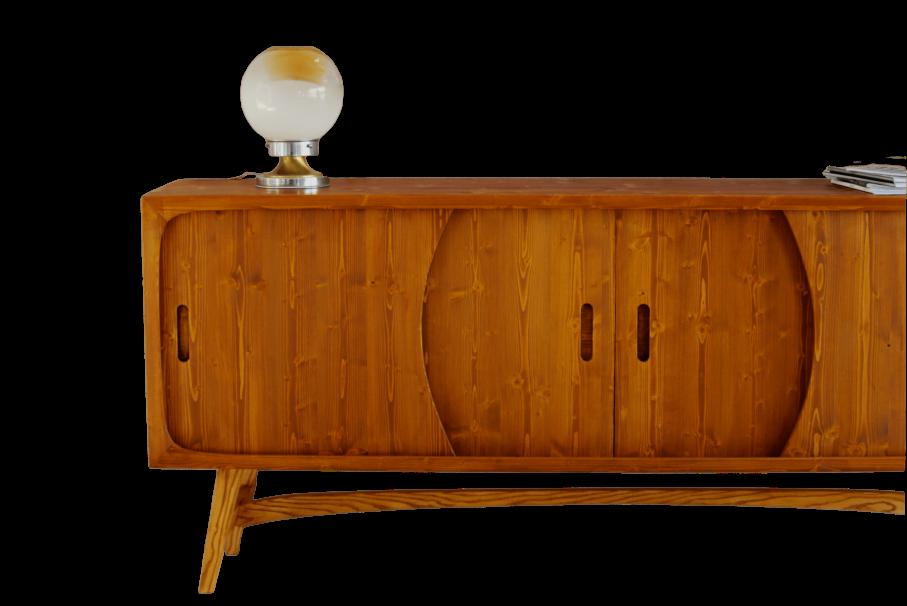 Madia Anni 50.Wood Inside Studio Arredamenti Toniolo Mobili In Legno